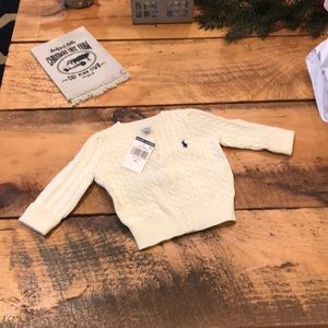 NWT size 6 months Ralph Lauren cardigan